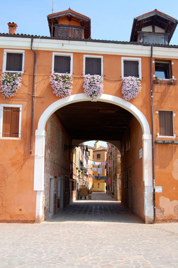 Castello district on the way to the Giardini