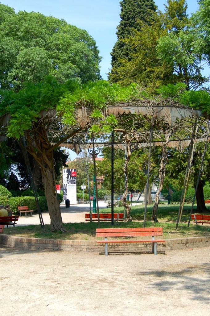 Entrance to the Giardini
