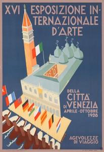 1928 Venice Biennale Poster