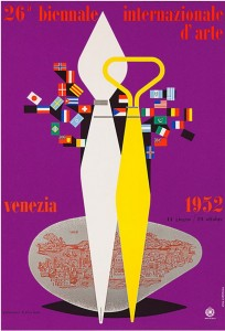 1952 Venice Biennale Poster