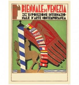 1934 Venice Biennale Poster