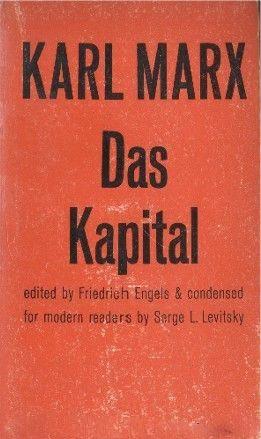 Das Kapital, Karl Marx