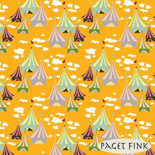 Fair Day Orange by Paget Fink