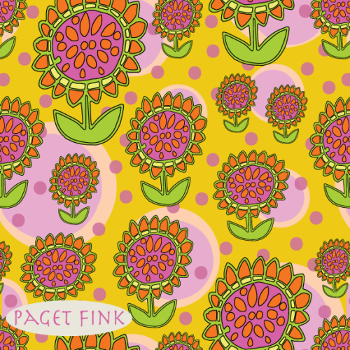 Flower Power, design by Paget Fink