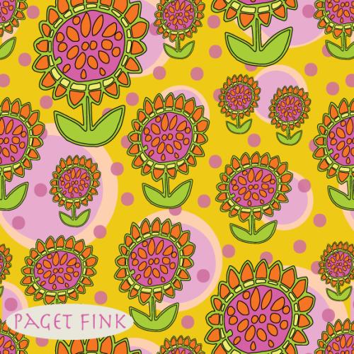 Flower Power, design by Paget Fink