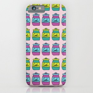 Warhol Soup Cookies iphone case, design by Paget Fink