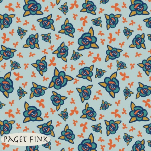 Mountain Flower design by Paget Fink