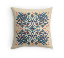 Folk Paradise pillow design by Paget Fink
