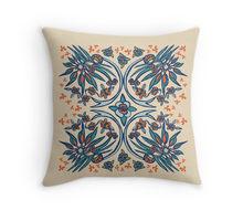 Folk Paradise pillow design by Paget Fink