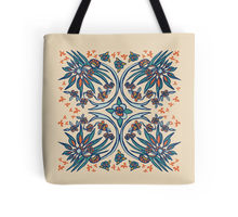 Folk Paradise tote bag design by Paget Fink