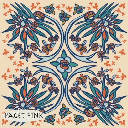 Paradise Folk design by Paget Fink